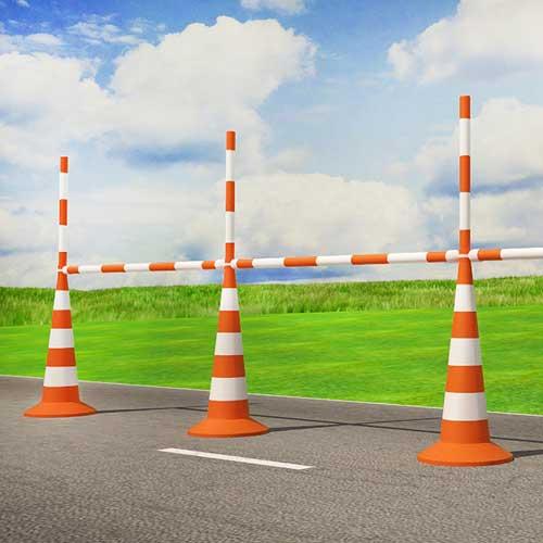сигнальный конус дорожный